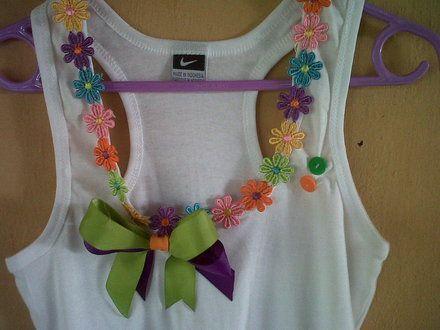 Diseño de blusas decoradas - Imagui