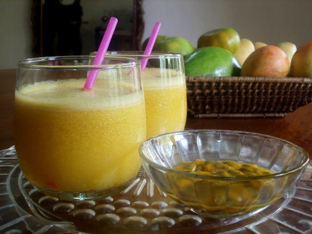 Los Antojos de Clara: Jugo o zumo de maracuyá