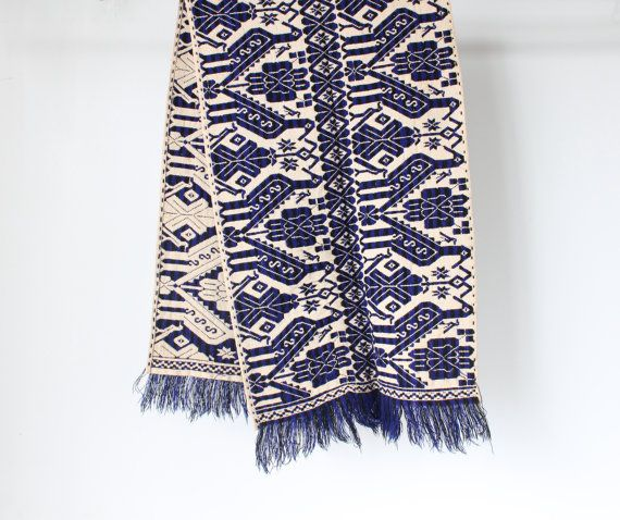 Woven Southwestern Table Runner by ffogshop on Etsy, $25.00