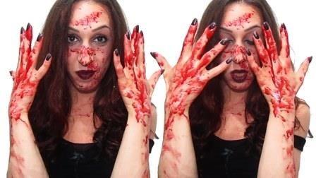 Come fare il sangue finto per Halloween: i trucchi dei registi dei film horror e degli attori di Hollywood!