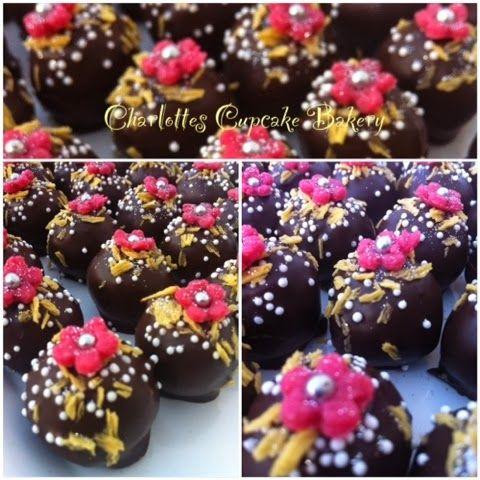Charlotte's Cupcake Bakery : Marcipan konfekt m/Pina Colada og ananas flager