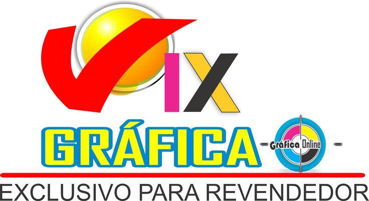Vix Gráfica Sua Gráfica Online Seja Revendedor Gráfico  www.vixgrafica.com.br