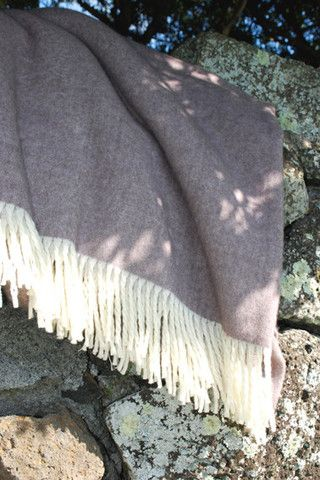 Luxe, Wool/ Possum Throw