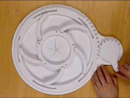 Mechanical Iris Paper Automata | Papercraft Paradise | PaperCrafts | Paper Models | Card Models