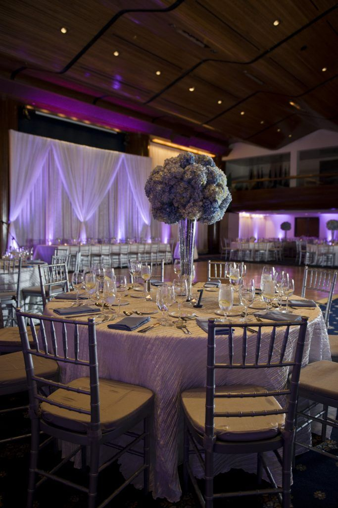Blue Silver Ivory Wedding At National Press Club Washington Dc Photo Erin Tetterton