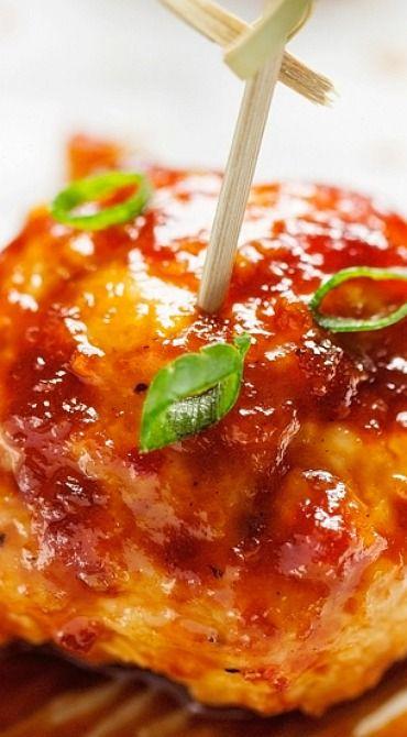 bbq chicken meatballs chicken meatball recipes bbq chicken chicken ...