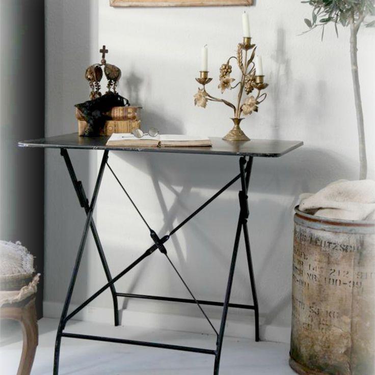 Franskt KLAFFBORD Antiqueblack - JDL