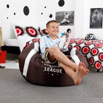 19 Inch Football Bean Bag Chair