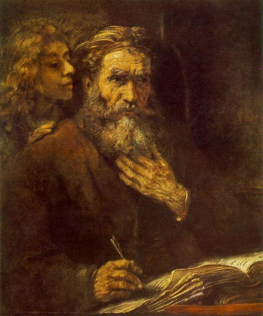 Ευαγγελιστής Ματθαίος και Άγγελος (1661)