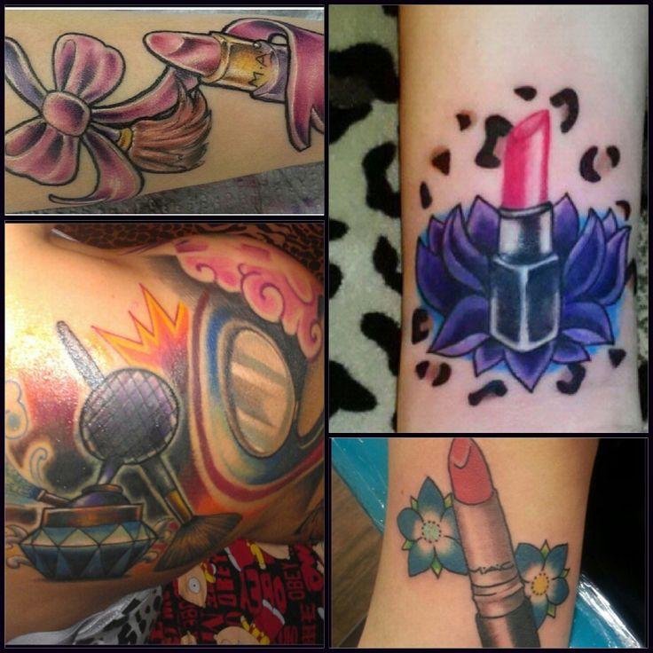 Tattoo ideas... Makeup tattoo.
