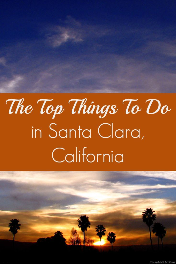 Things to do in Santa Clara: http://siliconvalley.about.com/od/Things-To-Do-in-Silicon-Valley/fl/Things-to-Do-in-Santa-Clara.htm // Great tips if you are visiting Levi's Stadium or the Santa Clara Convention Center