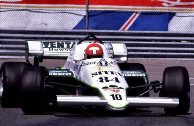Mike Thackwell - RAM 02 Hart 415T - Skoal Bandit Formula 1 Team - XXIII Grand Prix du Canada - 1984 FIA Formula 1 world championship, round 7