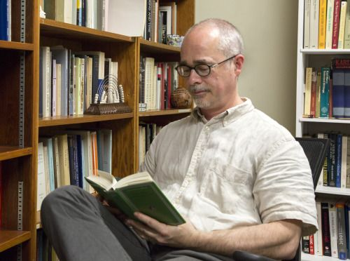 "Steve Naragon '82, Professor of Religion and Philosophy ""I had a normal sabbatical leave three years ago and then the past two years was funded by the Berlin-Brandenburg Academy of Sciences; I was working on a book for them … Immanuel Kant is the philosopher I've studied most carefully."""