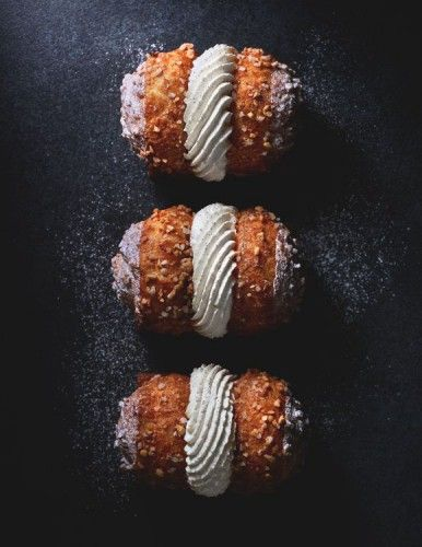 Doubles chouquettes chantilly