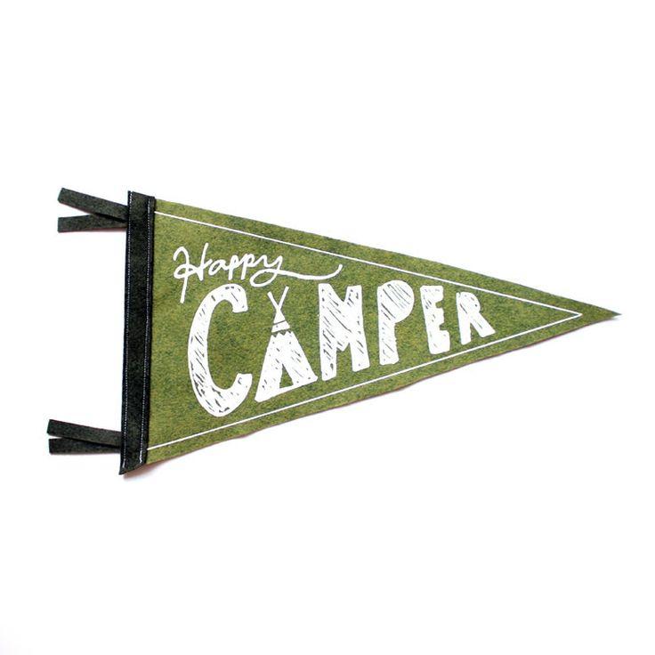 Happy Camper Pennant