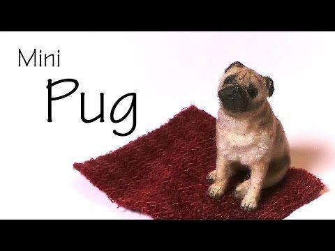 Miniature Pug - Polymer Clay Tutorial - YouTube