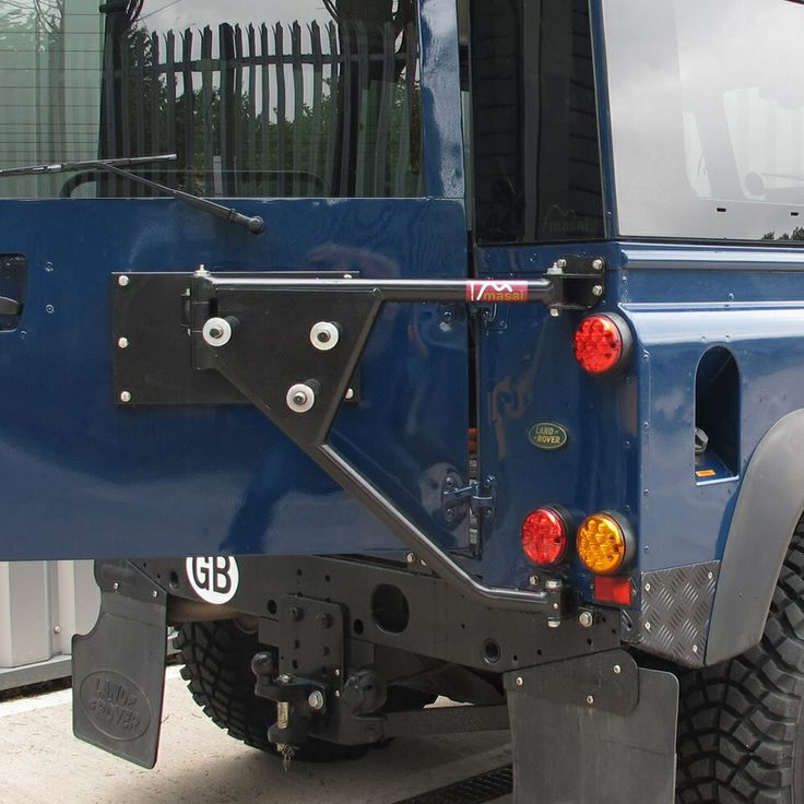 Rear Tire Carrier Swing Out By Masai Land Rover Defender