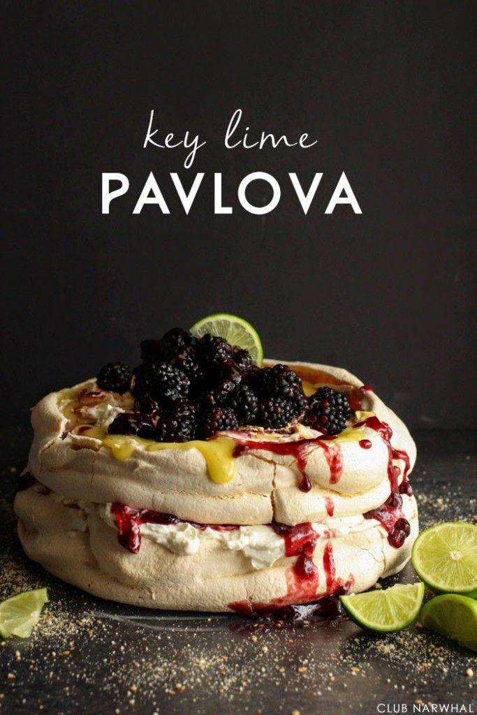 Key Lime Pavlova | Club Narwhal