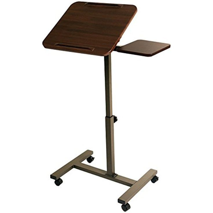SevilleClassics Lift Sit Stand Laptop Desk W/Side Coffee Table Adjustable  Height #SevilleClassics. LaptopgestellLaptoptischSchreibtisch ...