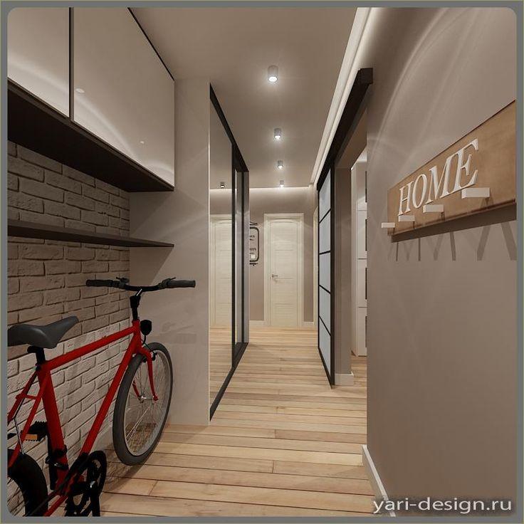 Узкий коридор (12-10) | Дизайн ландшафта и интерьера