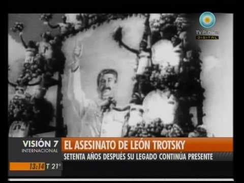 V7Inter: El asesinato de León Trotsky  FASCINATING TROTSKY AND HIS WIFE STAYED WITH FRIDA AND DIEGO WHEN HE WAS EXILED FROM RUSSIA