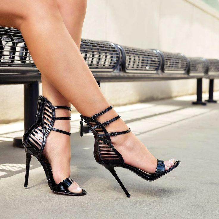 Strappy Eva Heels