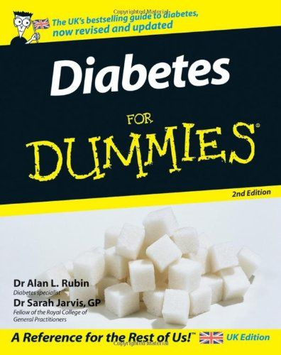 Diabetes for Dummies 2nd Edition Pdf Download For Free - By Alan & Jarvis, Sarah Rubin Diabetes for Dummies Pdf Free Download