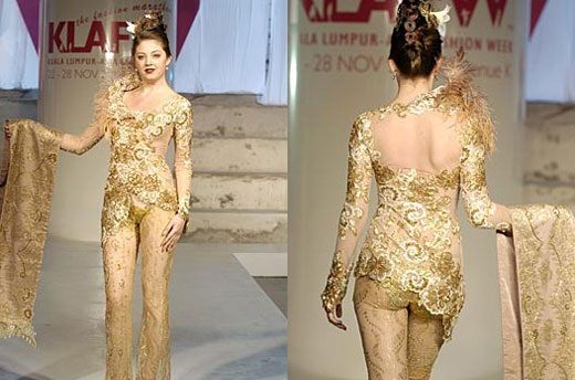 Kebaya Modern and Simple Design