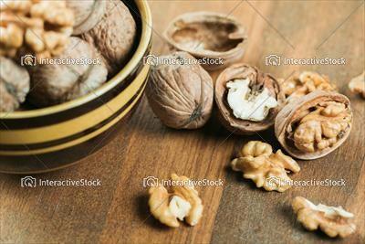 Orzechy włoskie - pozytywne wartości odżywcze dla naszego mózgu.