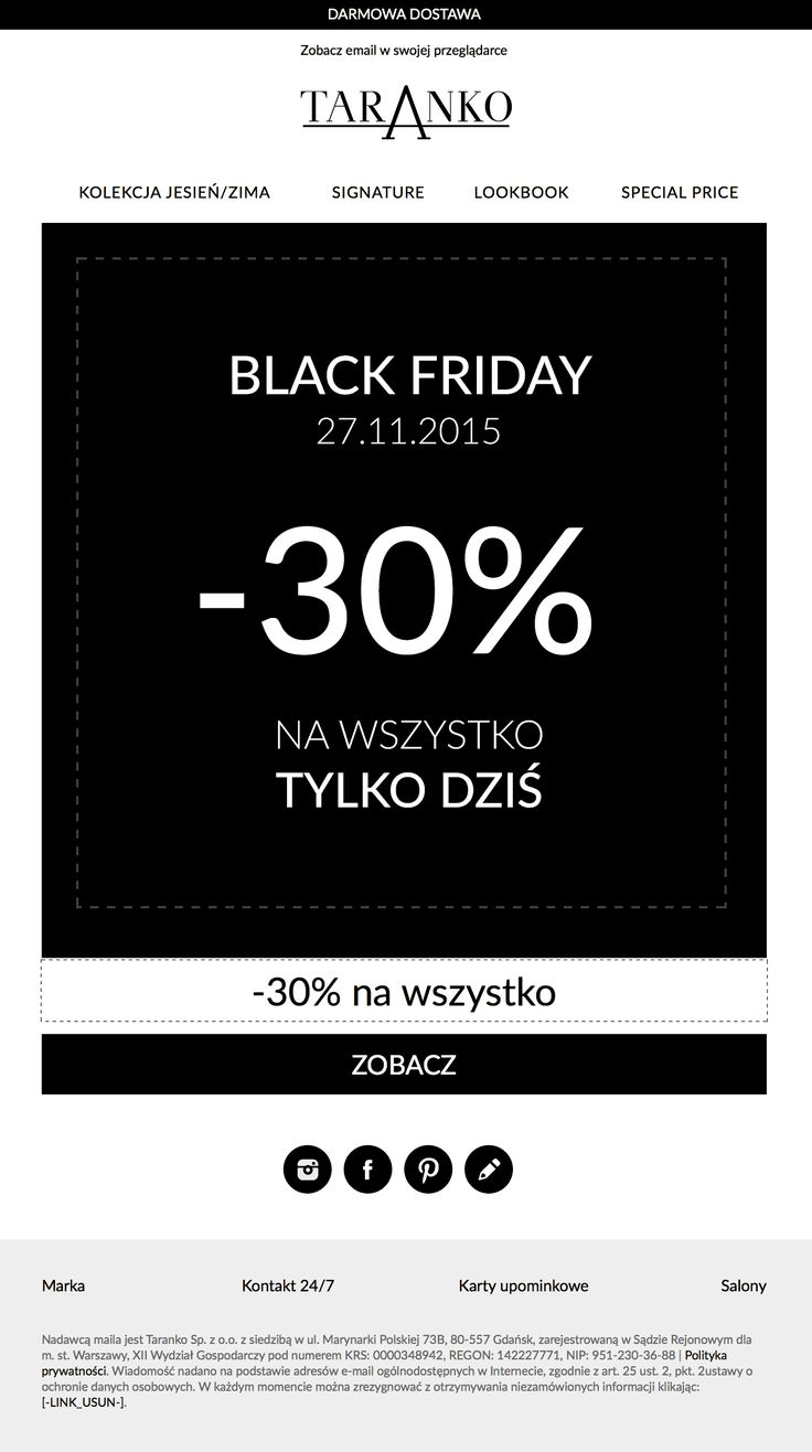 MarketingAD | Mailing Black Friday
