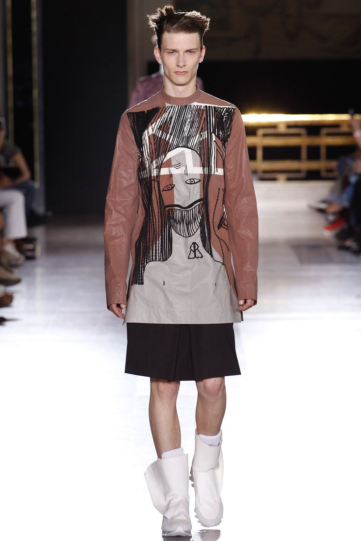 Rick Owens Spring 2015 Menswear - Collection - Gallery - Style.com