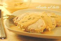 L' arista al latte con salsa cremosaè un secondo squisito.La carne cuoce nel latte mantenendosi succulenta. Dal fondo di cottura si ricava una salsa ottima