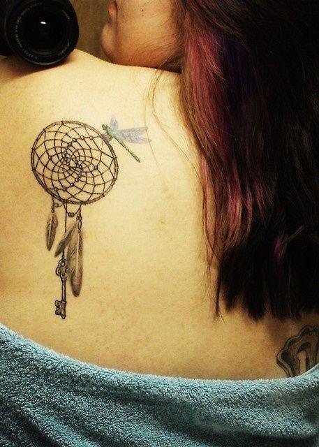 Dreamcatcher Tattoo Designs