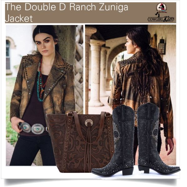 SHOP - Cowgirl Kim Unique Western Chic by cowgirlkim on Polyvore featuring Double D Ranch and Kippys