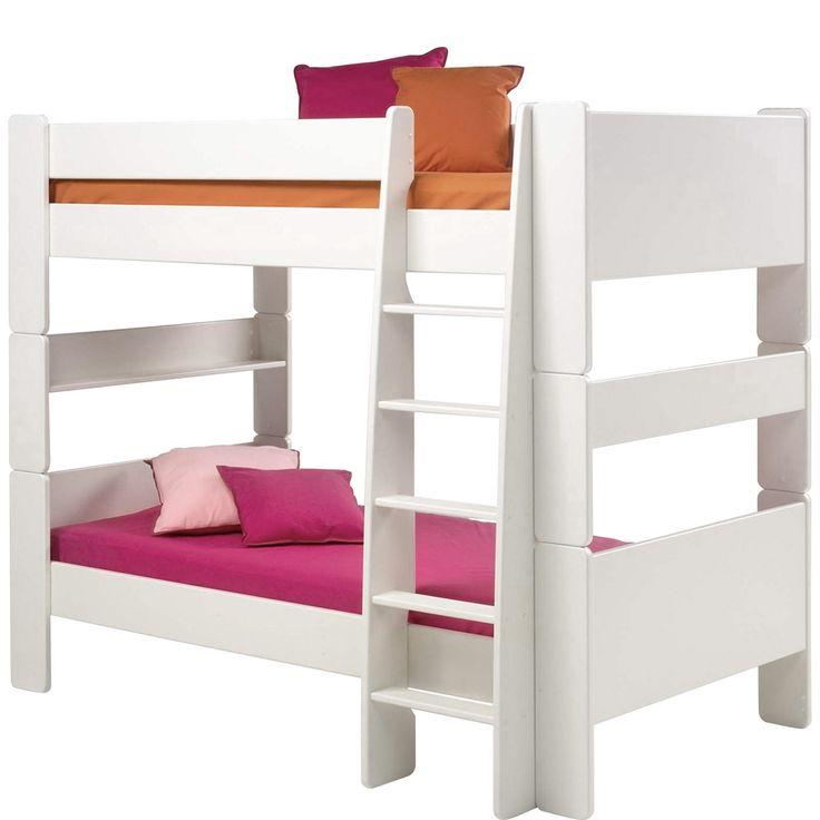 Bett For Kids 90x200 Cm Etagenbett MDF Weiß Jetzt Bestellen Unter: Https://