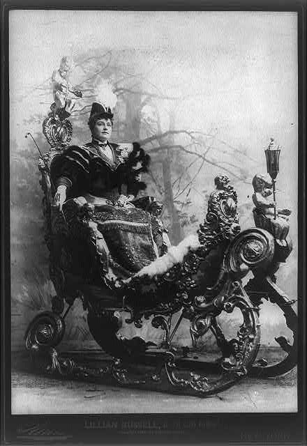 136 Best Lillian Russell Images On Pinterest Vintage