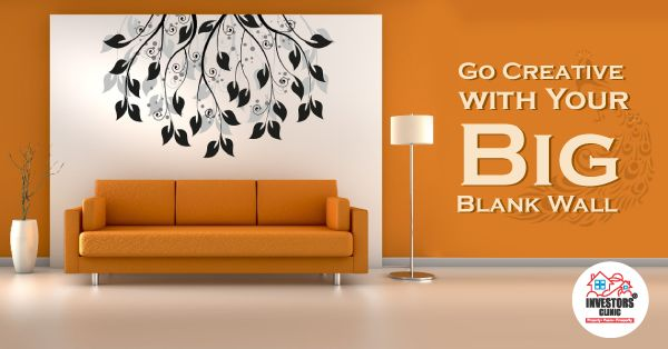 Go Creative with Your Big Blank Wall