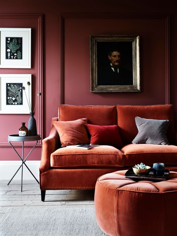 92 best Déco ROUGE images on Pinterest Color schemes, Weddings and - deco salon rouge blanc noir