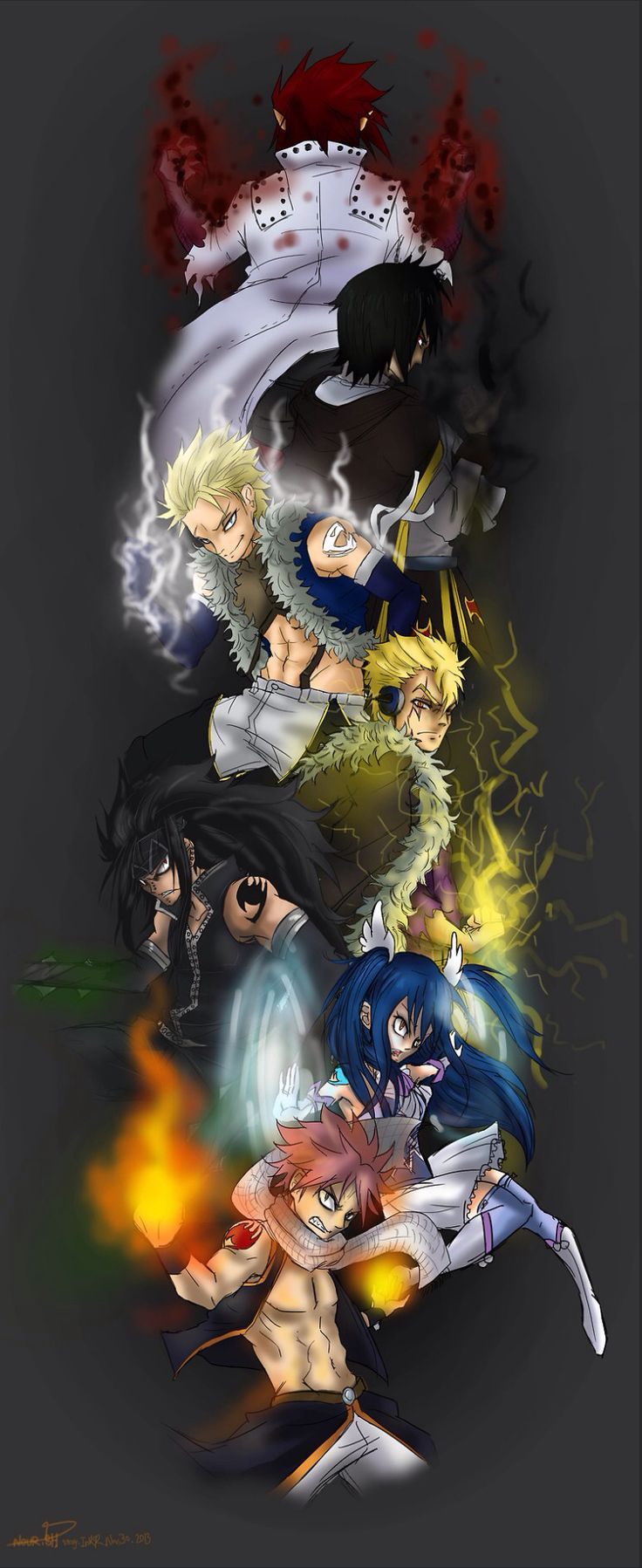Dragon slayers!!!!!!!!!- no offence to who ever drew this but stings face looks a little... Off?