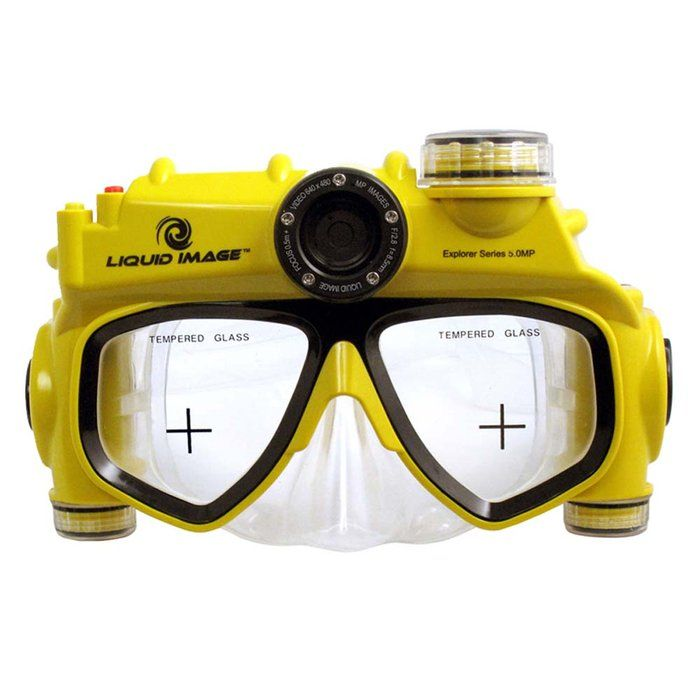 758709pLiquid Image XSC Explorer Series 8.0MP - #Camera Mask by Brookstone - For #APPLE News Visit iLadies @ http://apple4ladies.com