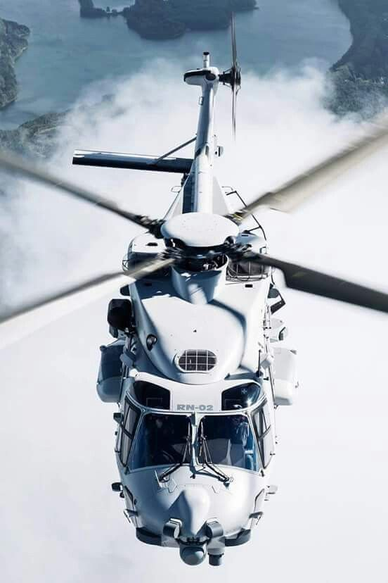 Gorgeous NH 90 in Flight...
