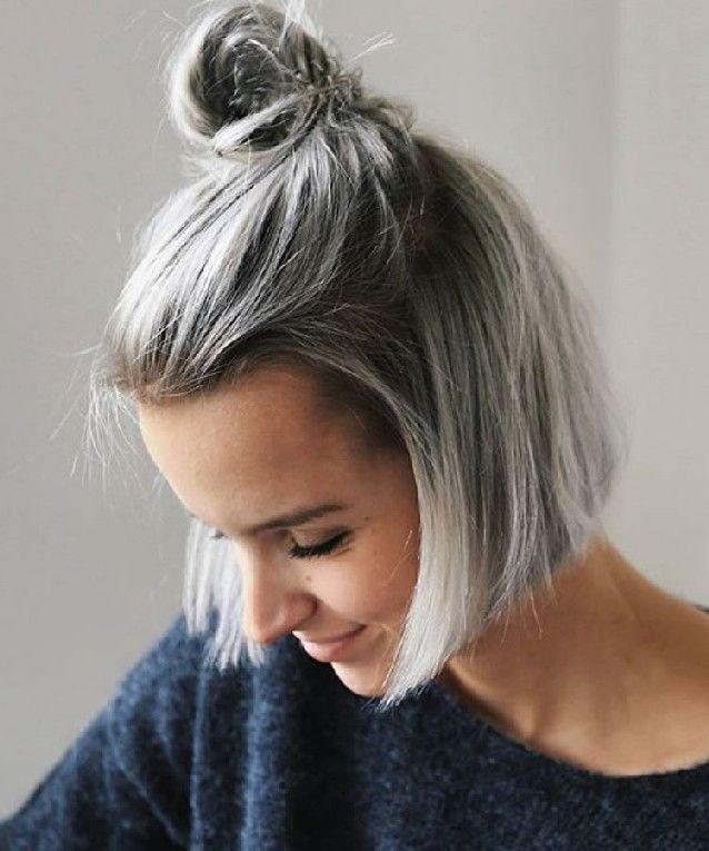 Balayage Haarfarben Für Sommer Frisuren 2019 Haare Grau