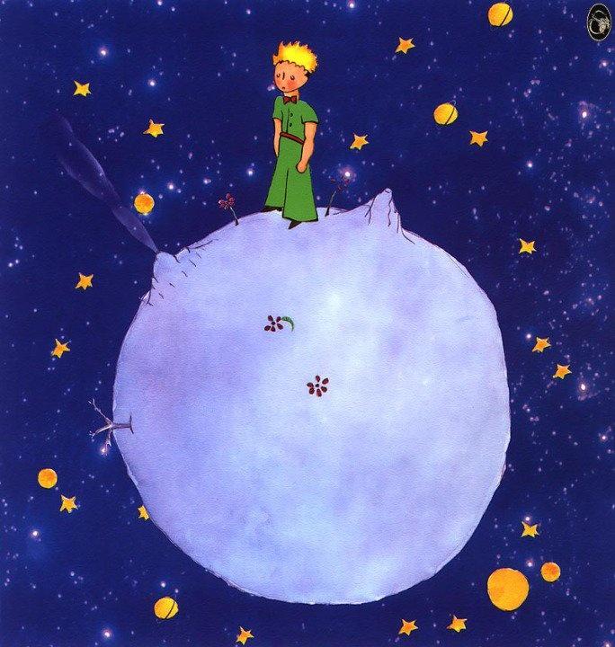 """""""Ama gözler kördür. İnsan ancak yüregiyle baktıgı zaman gerçegi görebilir."""" Küçük Prens"""