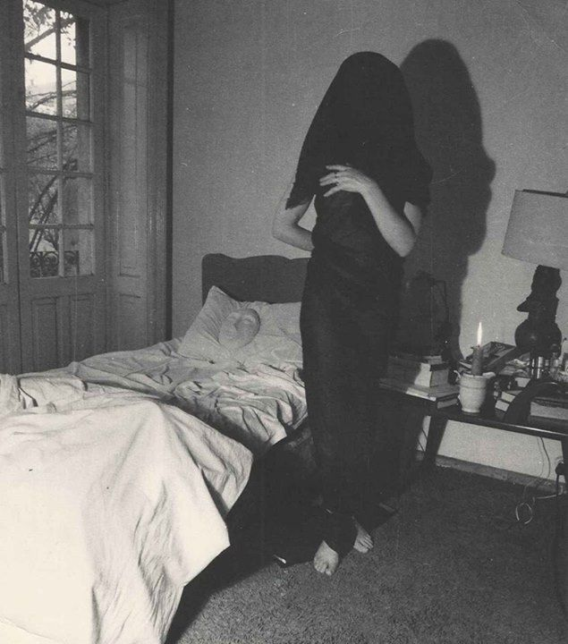 Leonora Carrington in Ode to Necrophilia by Kati Horna, 1962