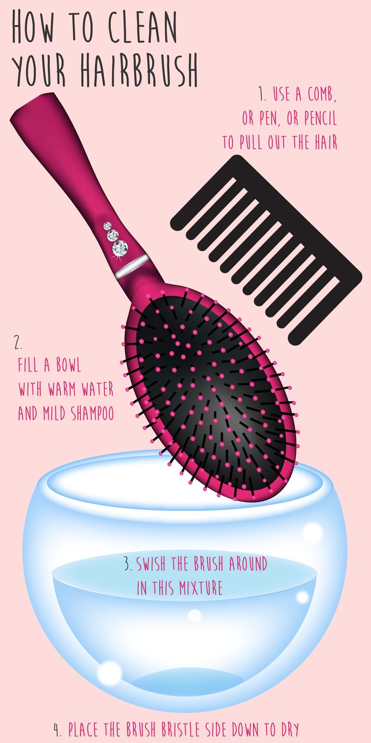 When it comes cleaning hair brushes, there's something we can all probably admit: we rarely ever do it.