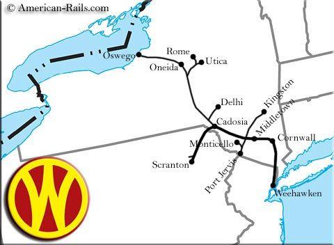 The New York Ontario And Western Railway