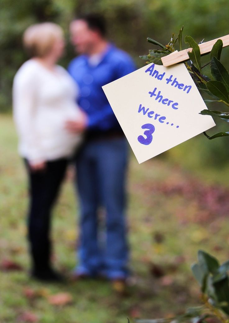 "Maternity photography ""We were 3, soon to be 4, every day I love you more and more"" ...?"