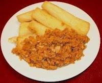 Teloh kun je los eten, maar het is vooral lekker in combinatie met bakkeljauw. Voor dit recept kun je het beste verse cassave gebruiken, maar diepvries kan ook.