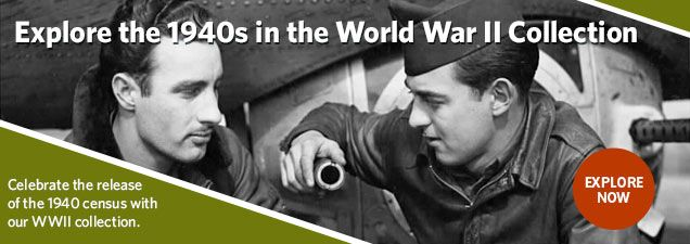 Explore the World War II Collection