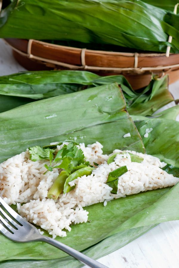 Grilled rice, Nasi bakar